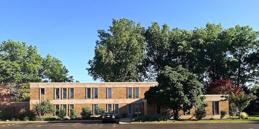 The rectory and office