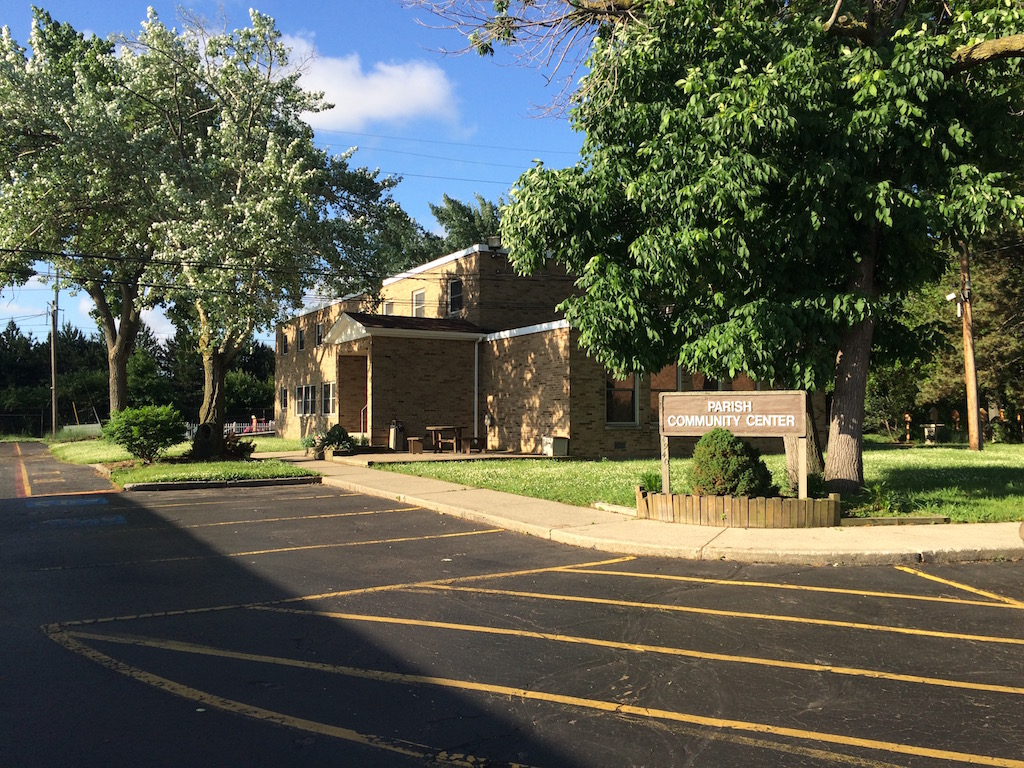 Originally the convent, the Parish Community Center is now a meeting place for parish groups. It also houses the Preschool on the 2nd floor.