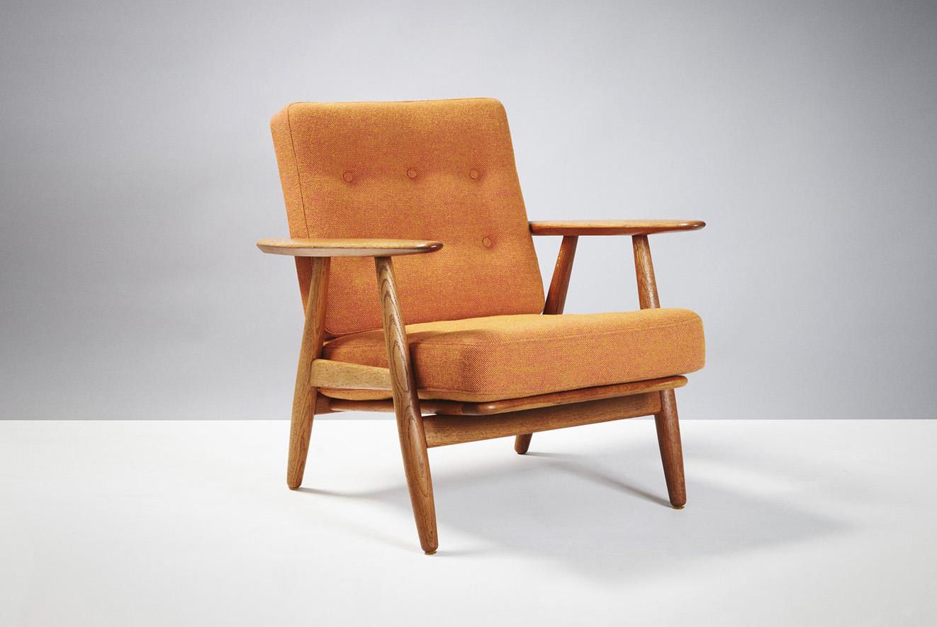 Hans Wegner  GE-240 Cigar Chair, Oak