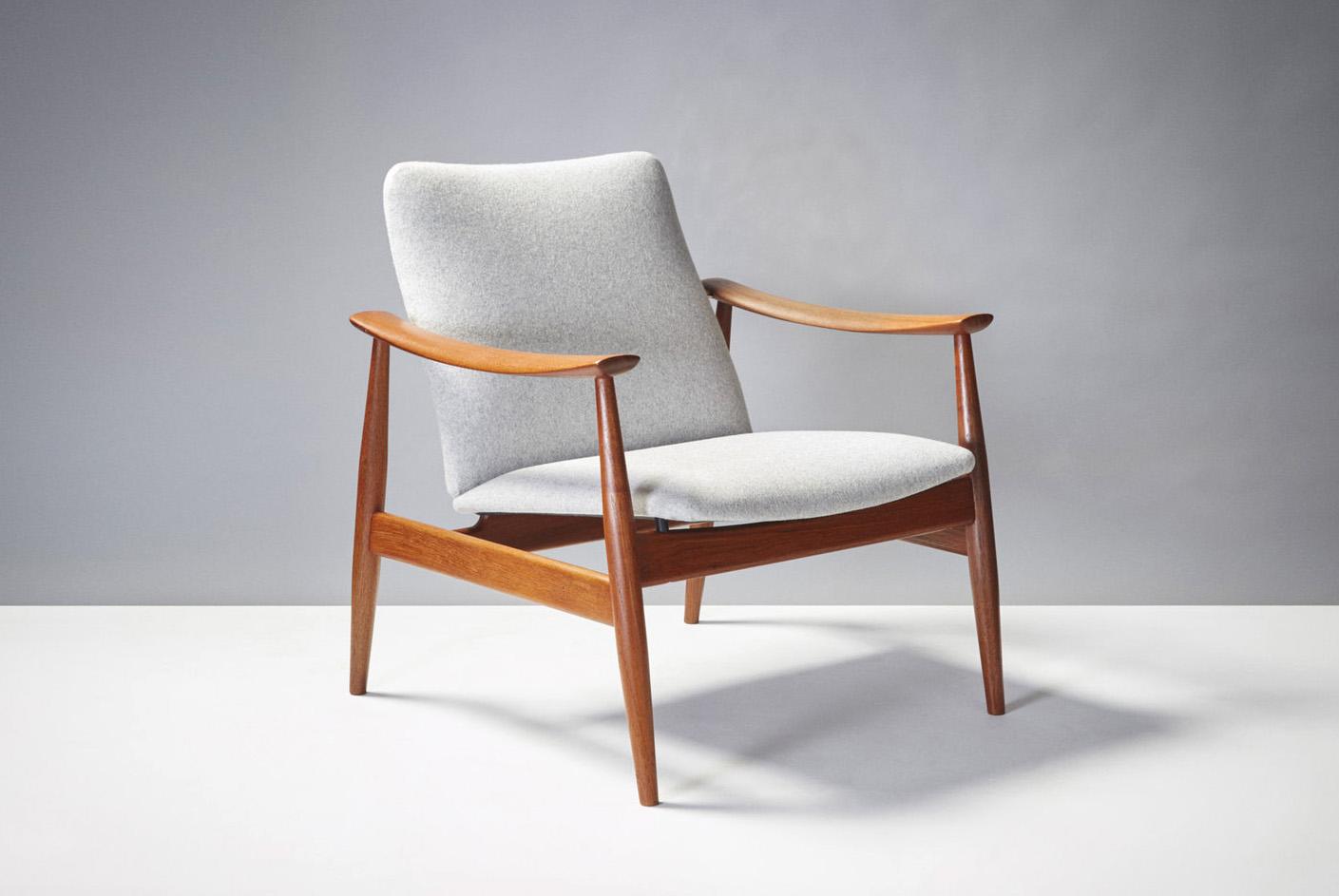 Finn Juhl  FD-138 Chair, Teak