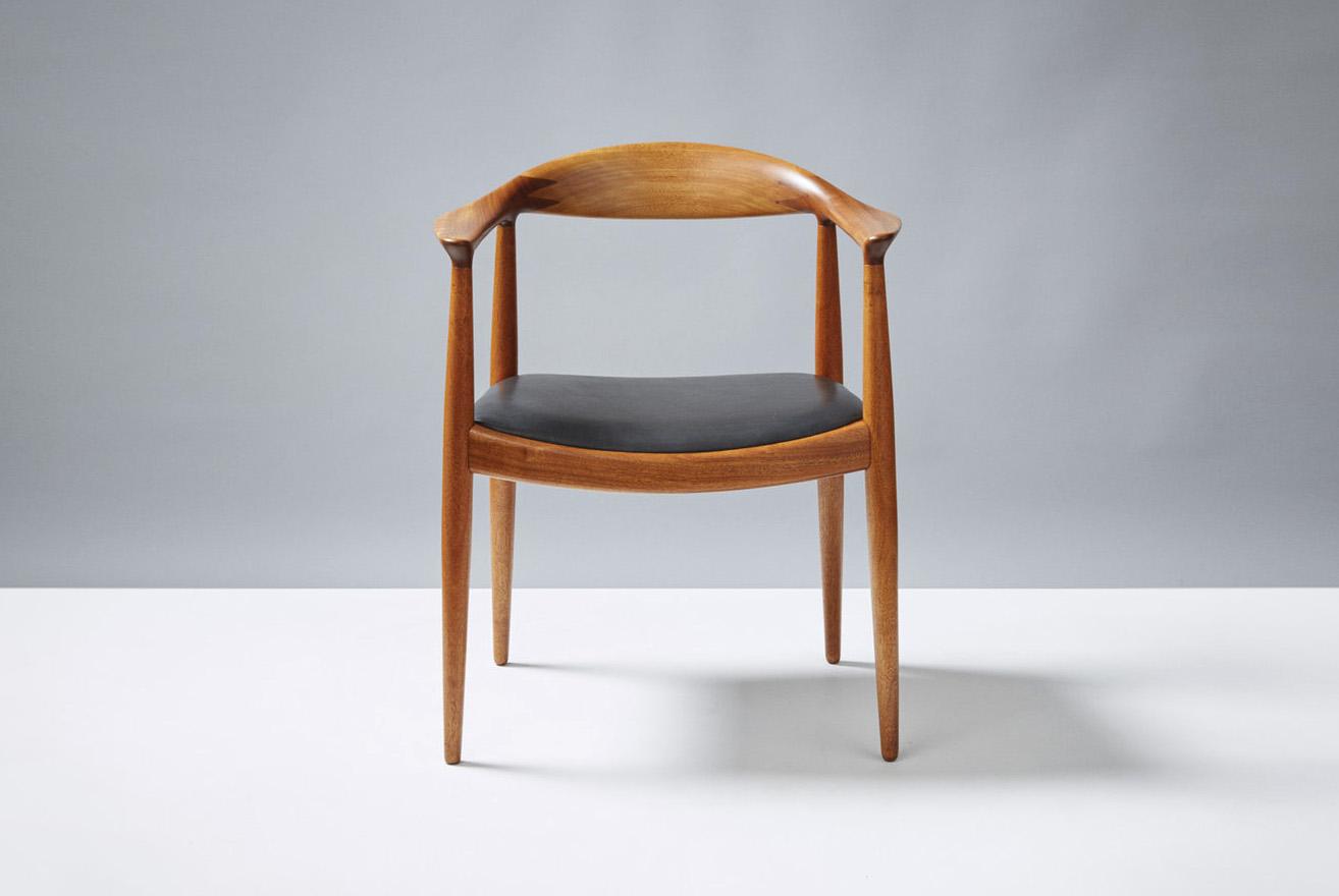 Hans Wegner  JH-503 Chair, Mahogany