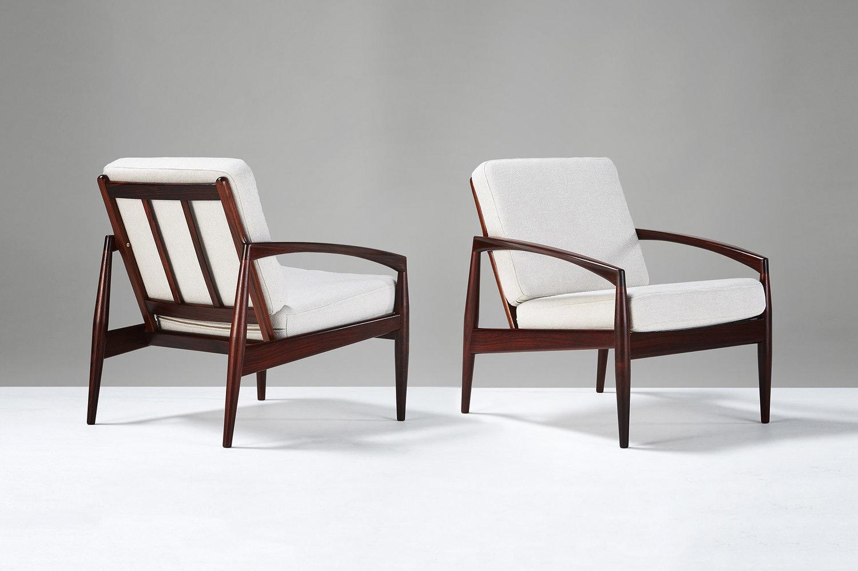 Kai Kristiansen  Paper Knife Chairs, Rosewood