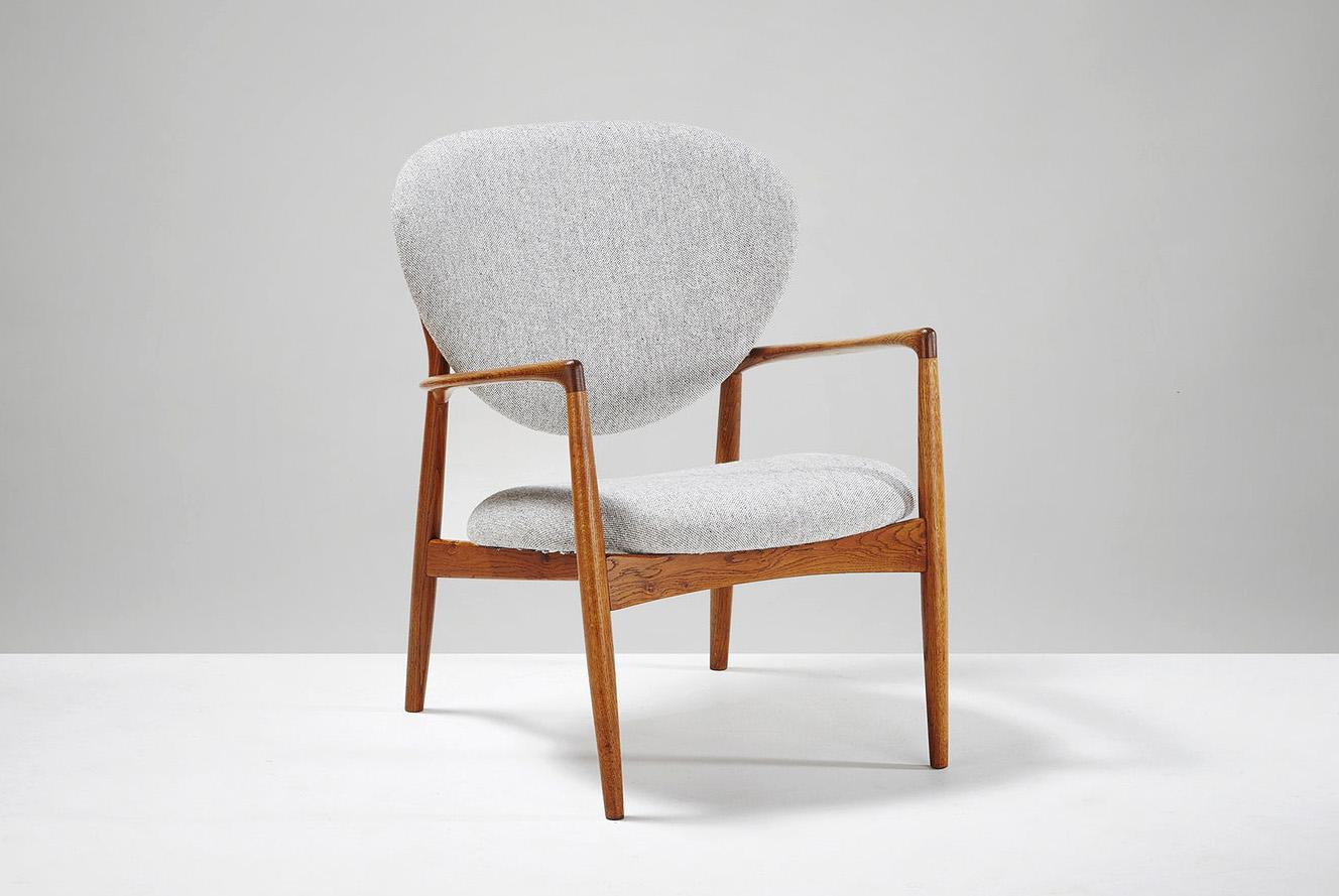 Ib Kofod-Larsen  Lounge Chair, Oak