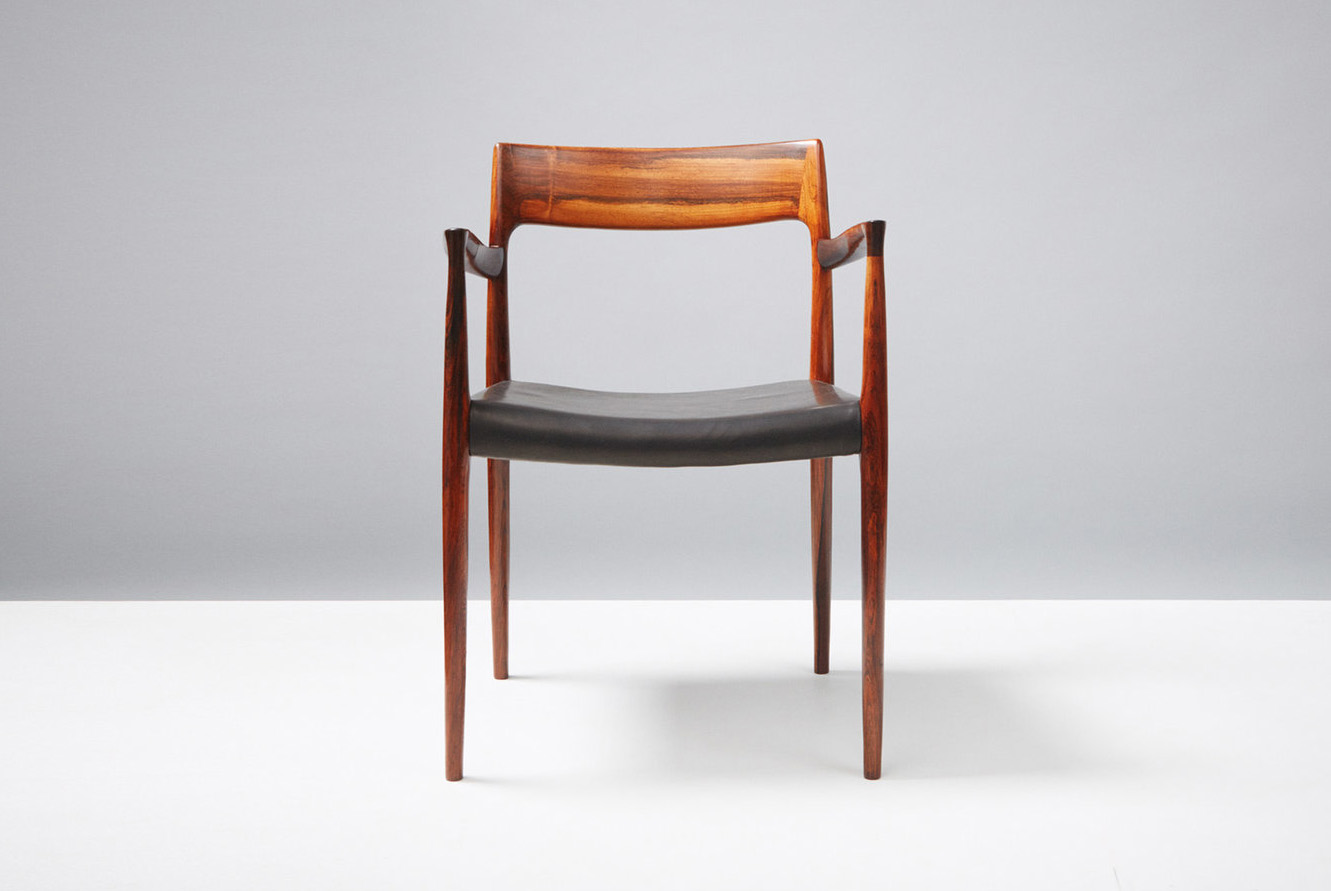 Niels Moller  Model 57 Chair, Rosewood