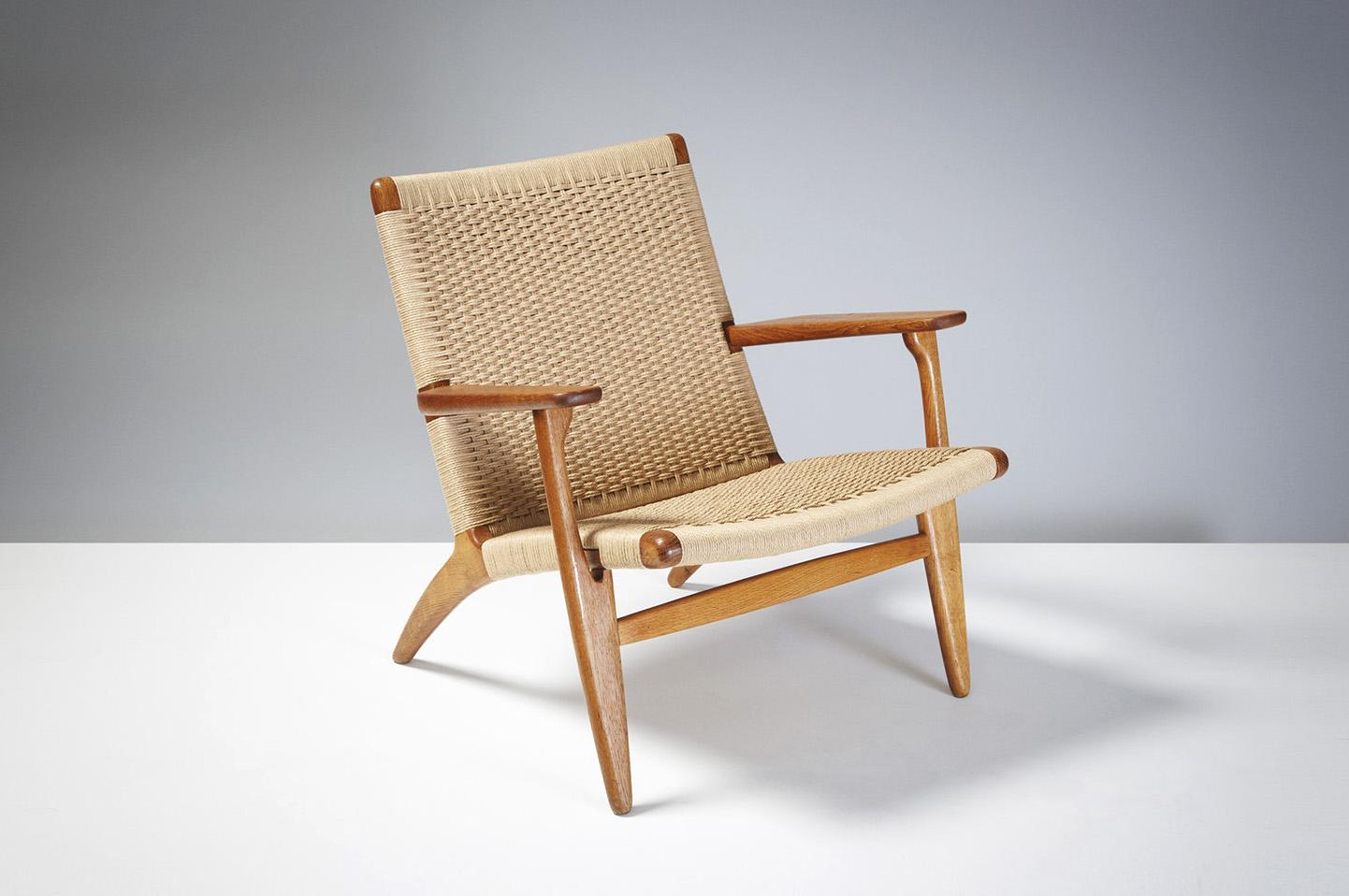 Hans Wegner  CH-25 Chair, Oak