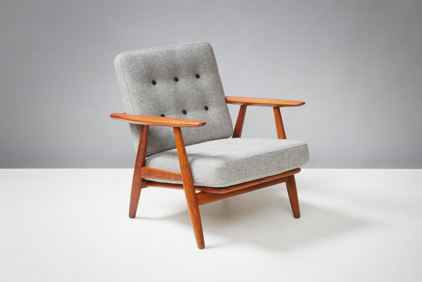 Hans Wegner  GE-240 Cigar Chair, Oak & Teak