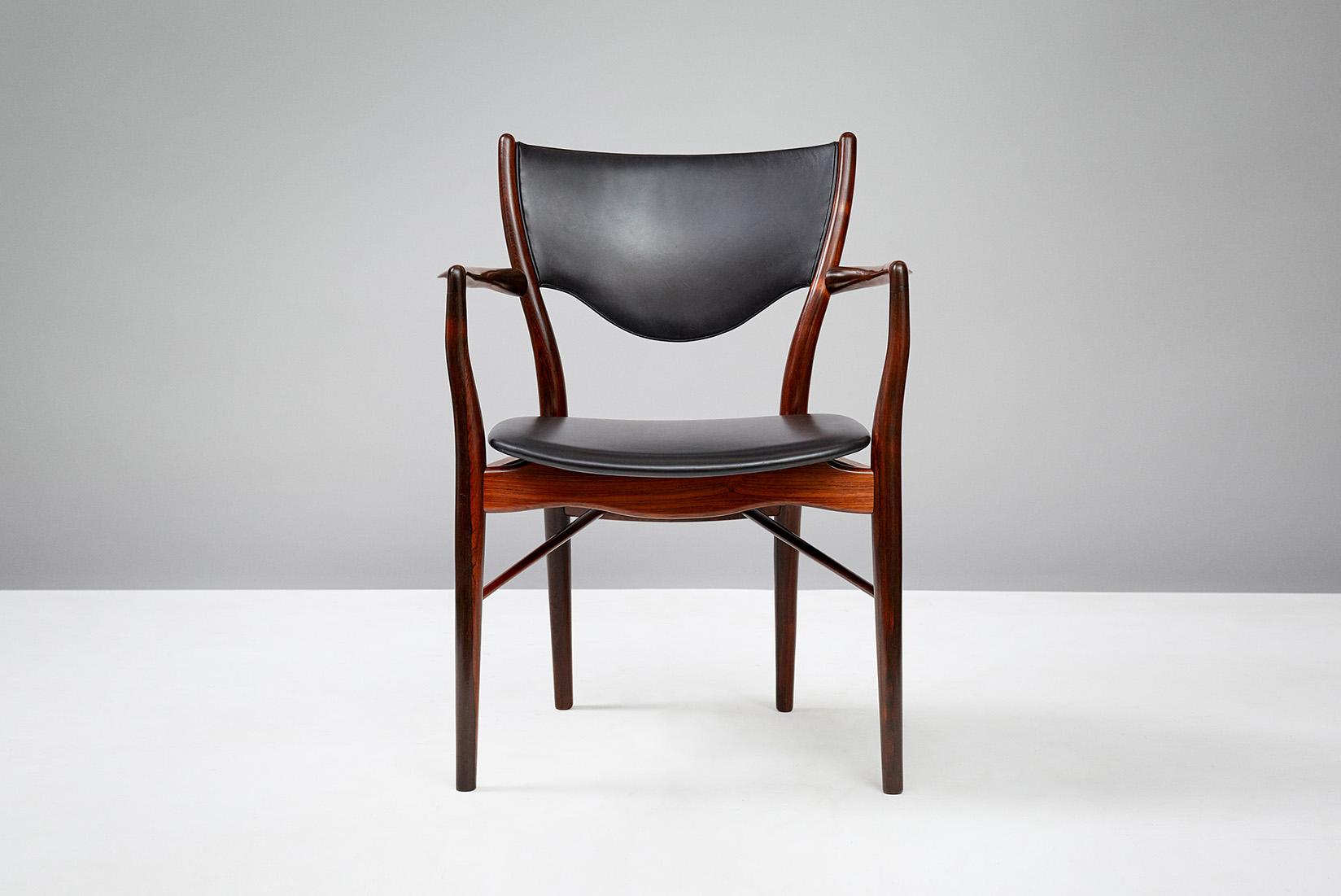 Finn Juhl BO-72 Chair, Rosewood