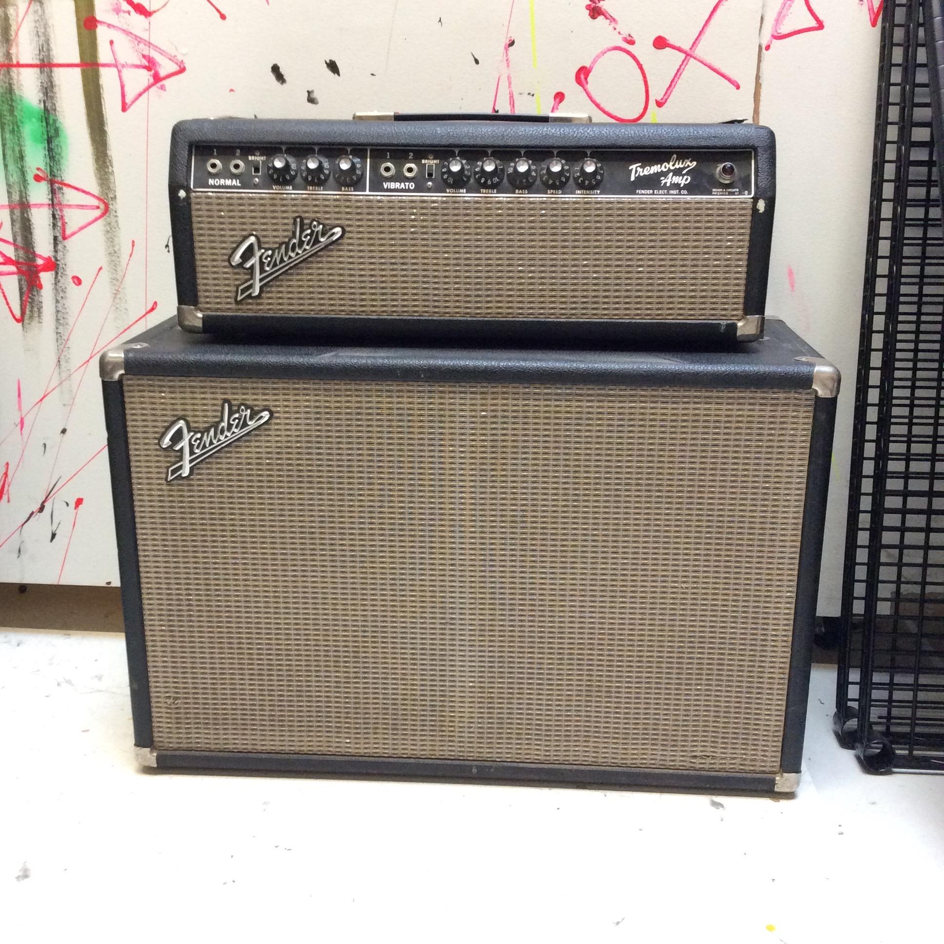 Fender Tremolux Amp Head (Top)  Notes: