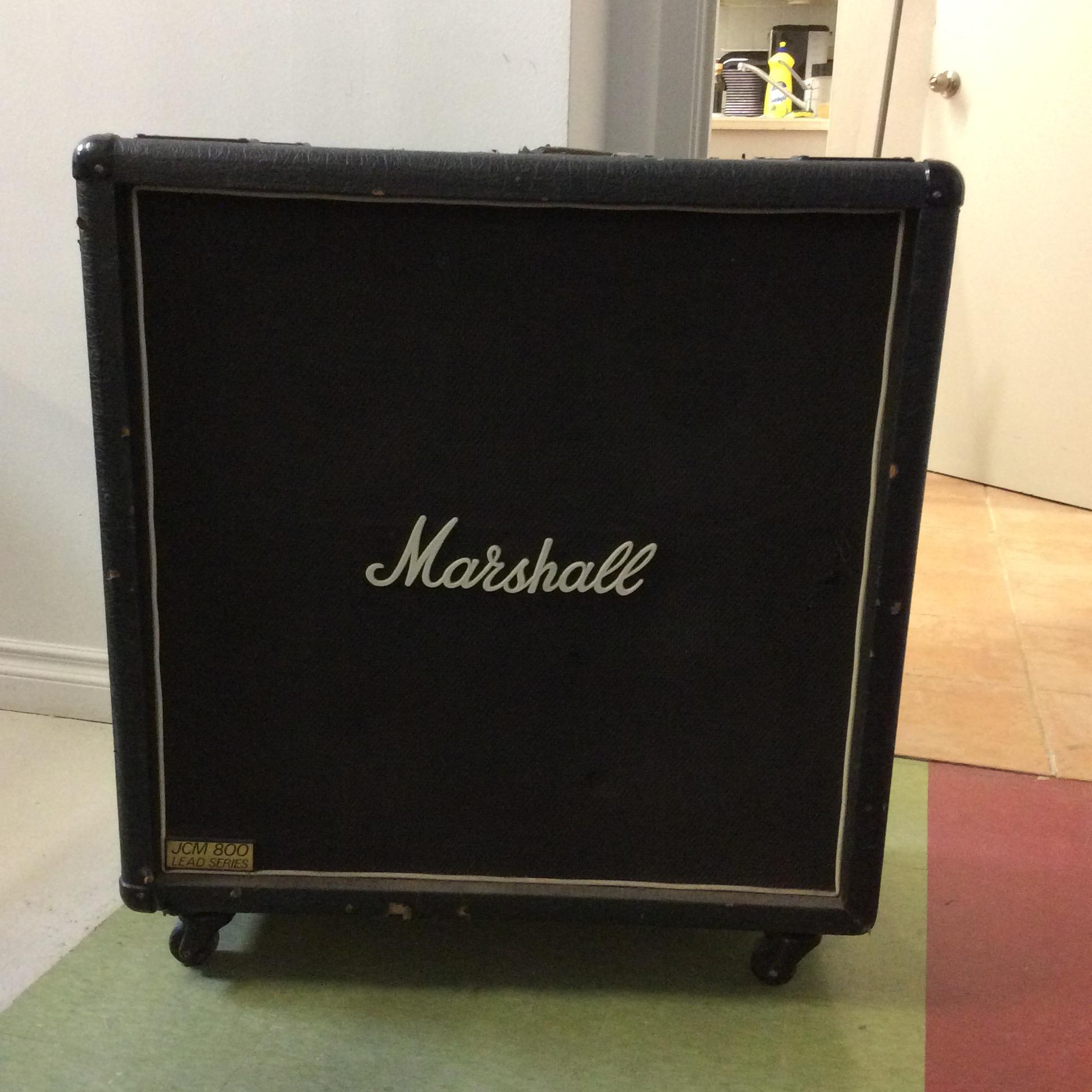 Marshall 4x12 Cab  Notes: