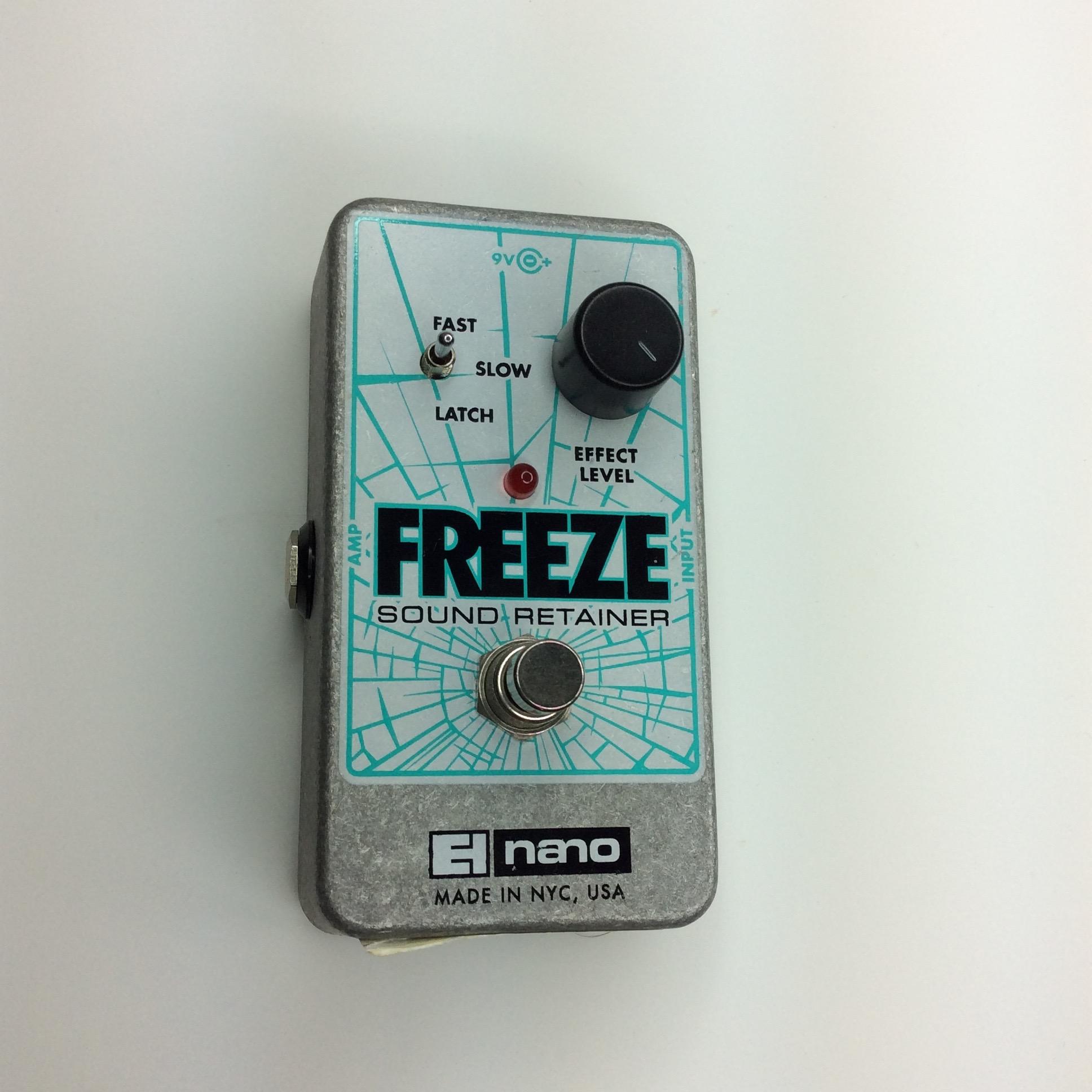 Freeze Sound Retainer  Make: electro-harmonix