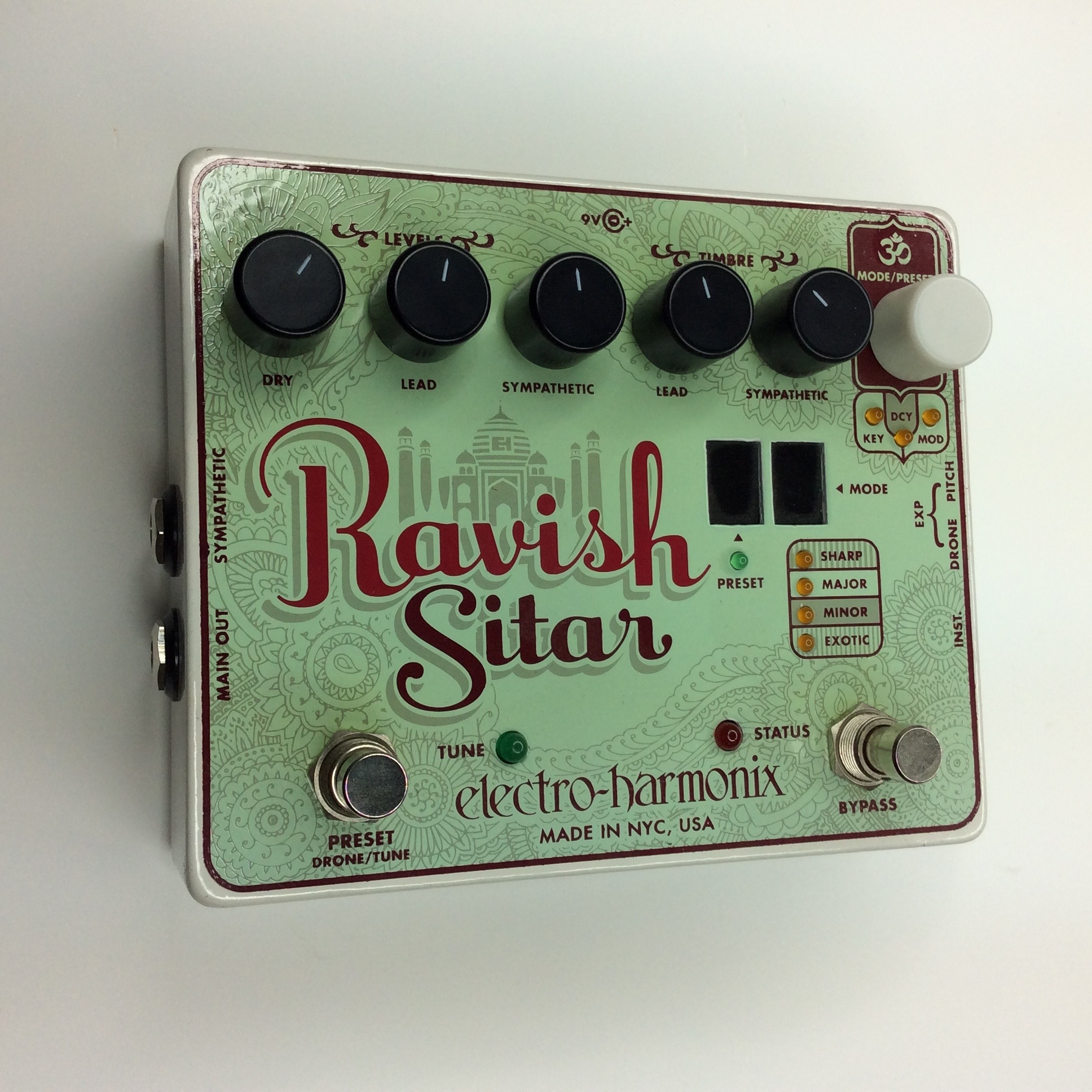Ravish Sitar  Make: electro-harmonix