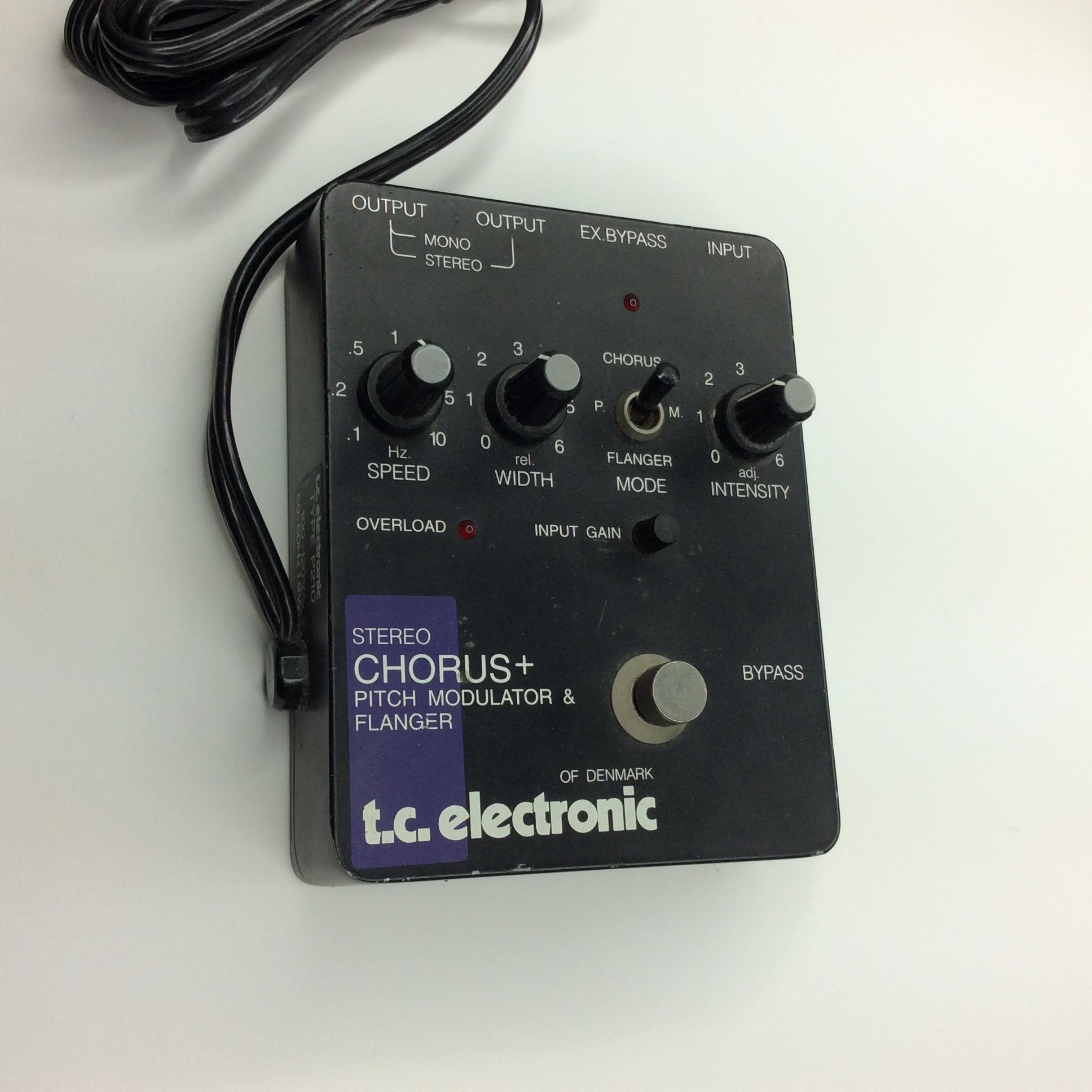 Chorus+ Pitch Modulator + Flanger  Make: t.c. electronic