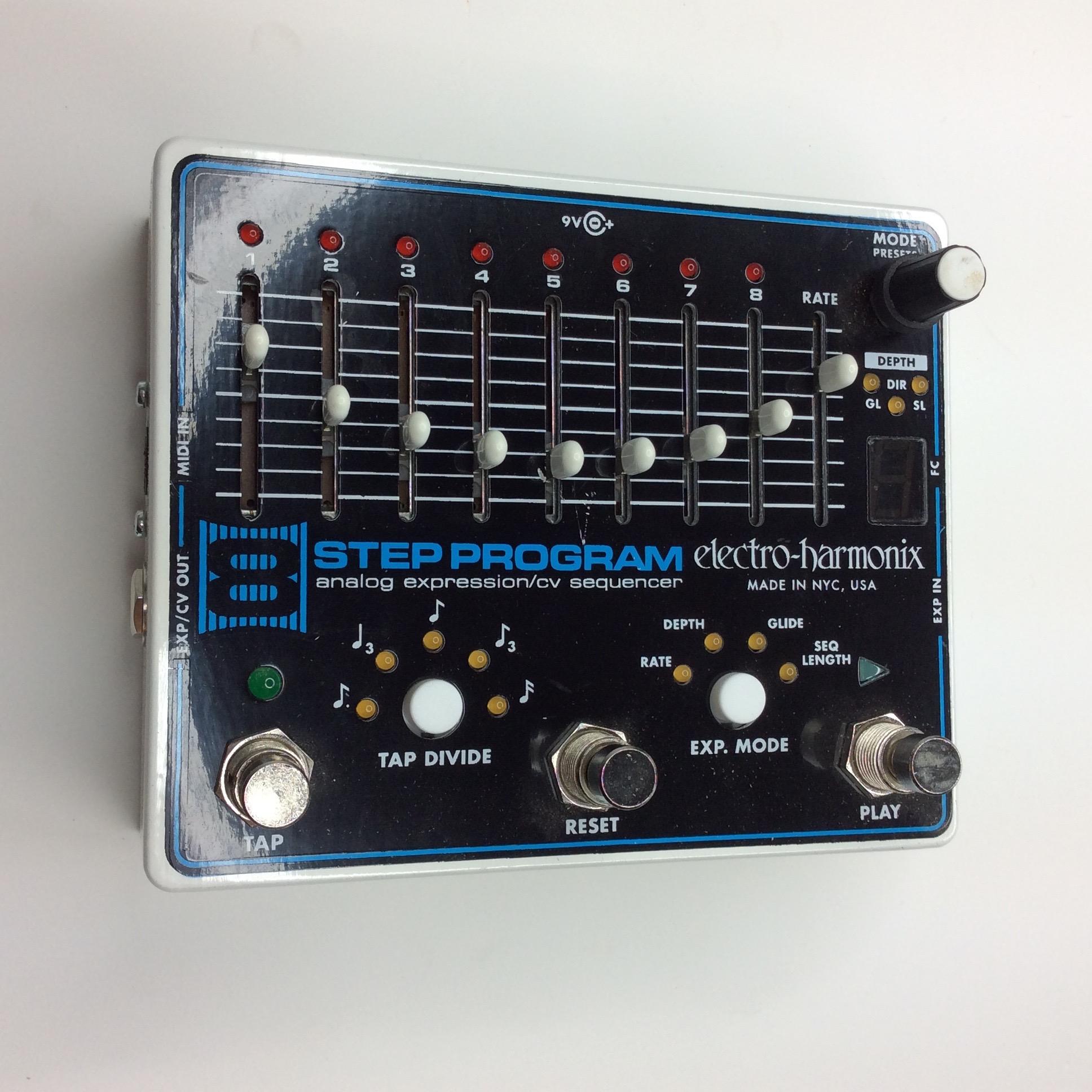 8 Step Program  Make: electro-harmonix