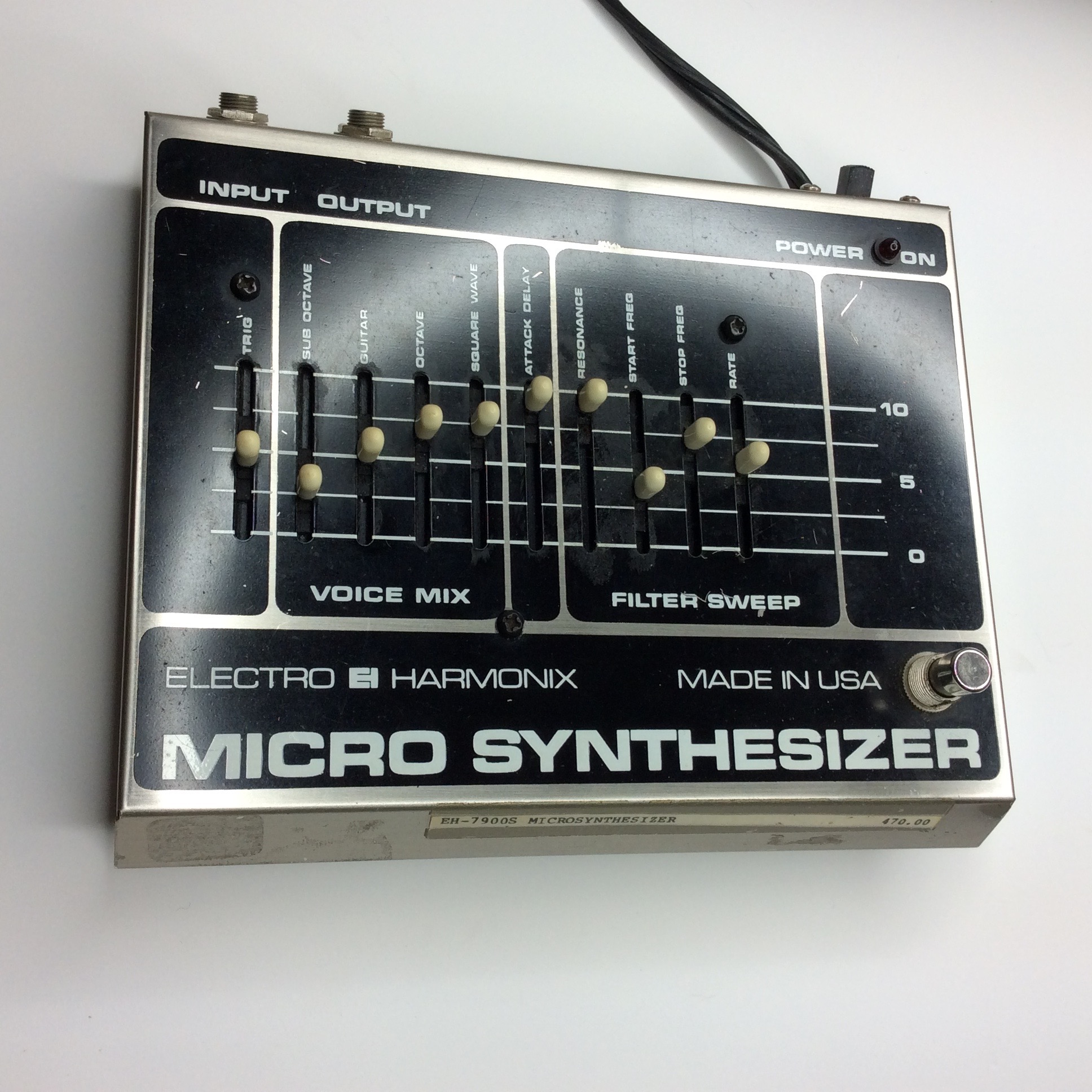 Micro Synthesizer  Make: electro-harmonix