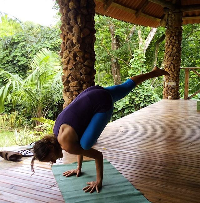 Don't let the fear of falling keep you from flying.  #yeahyoga . . . . . .  #yogateacherlife #adventure #yogaretreat #divedeeper #theshift #yoga
