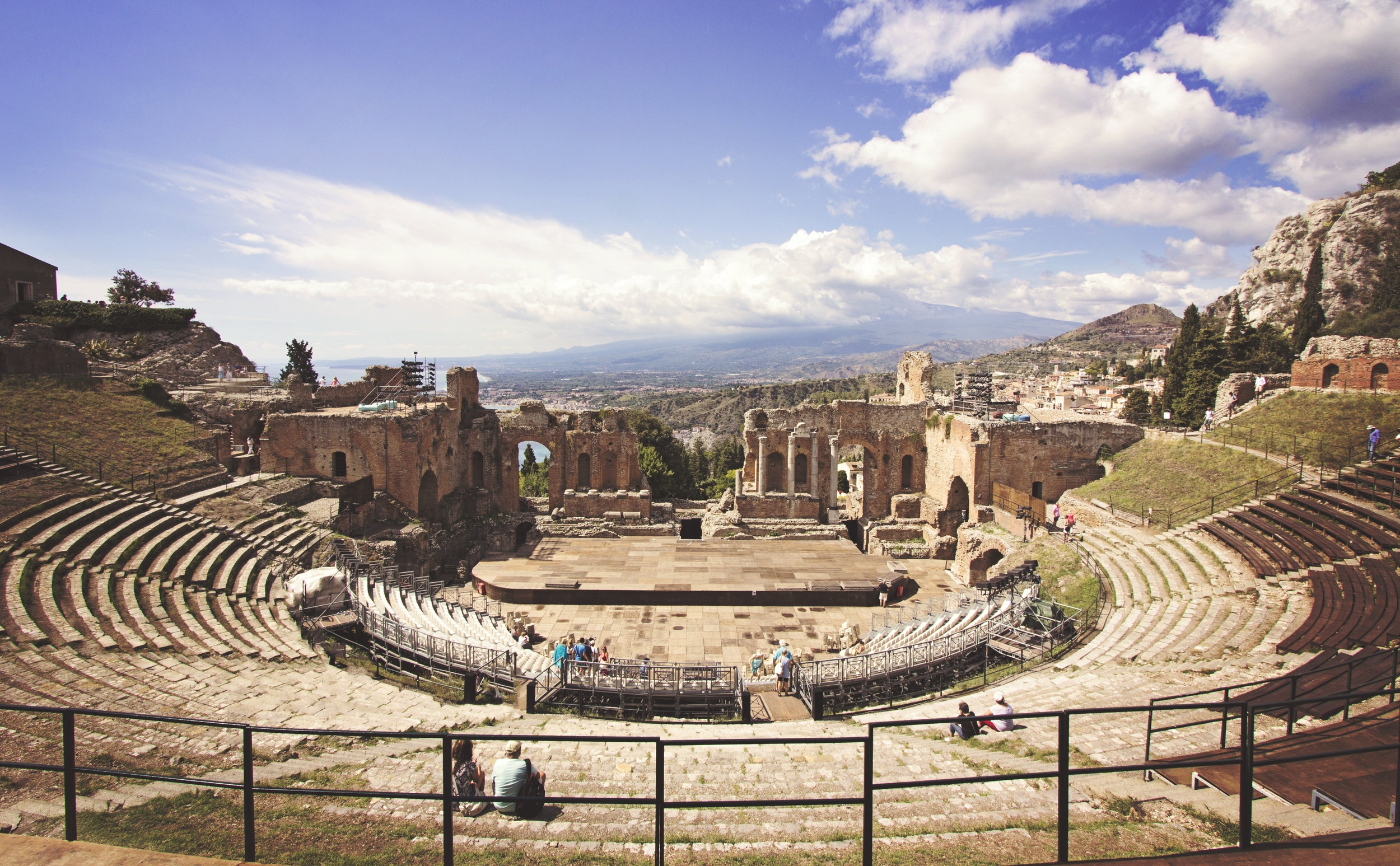 Greek Theater. Taormina