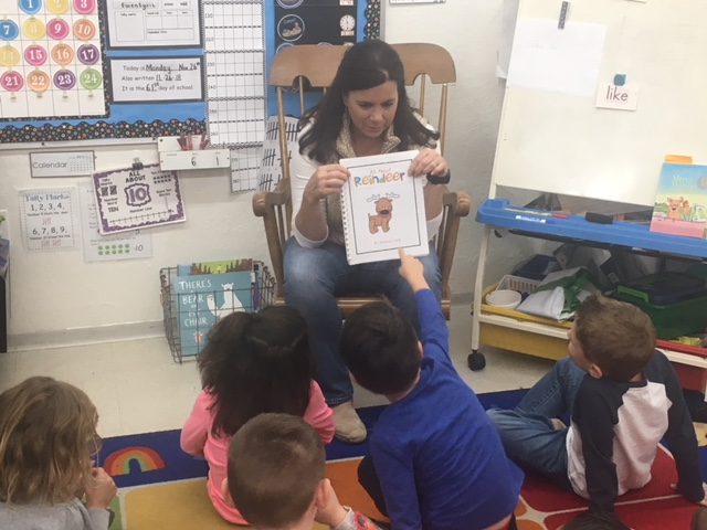 R is for Reindeer in Mrs. Markley's & Mrs. Lynn's class