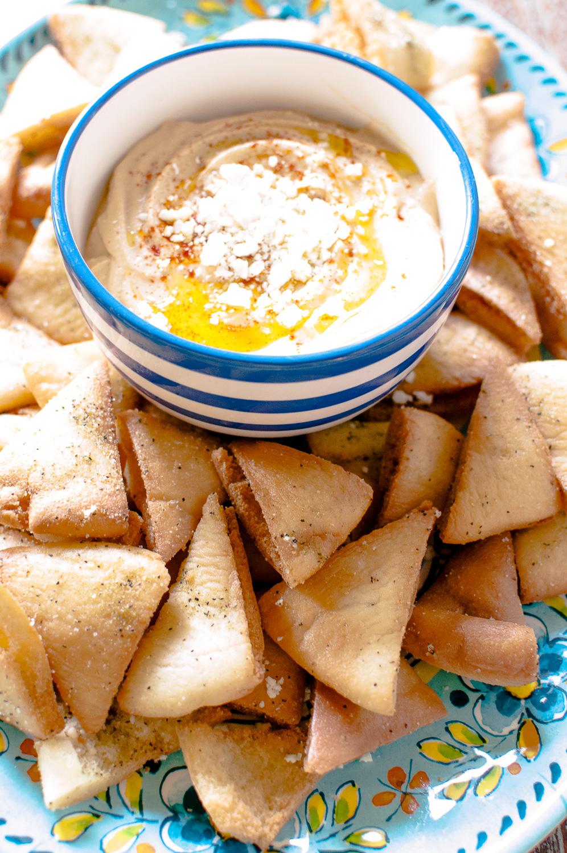 garlic hummus | kitchen lush