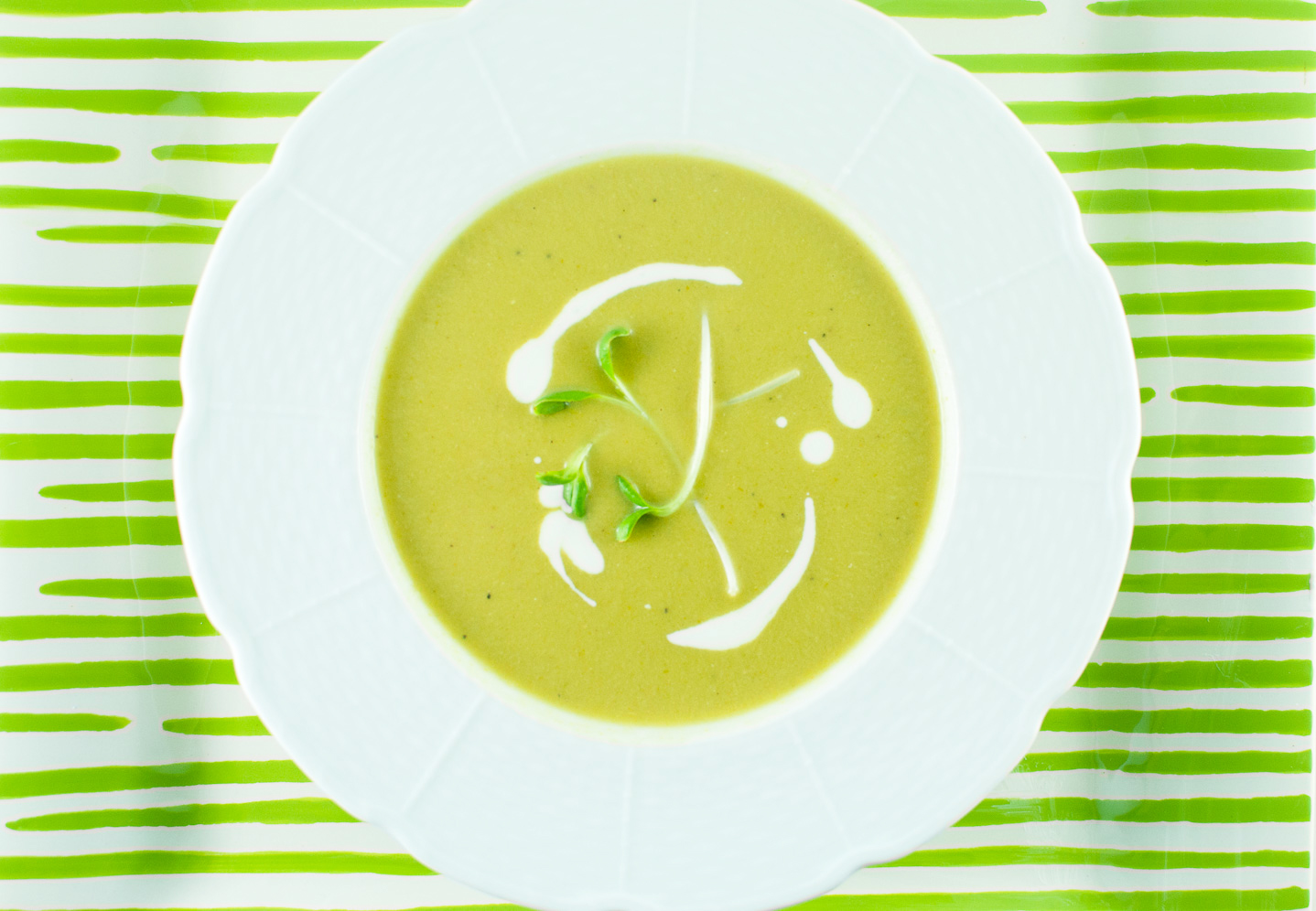 asparagus soup | kitchen lush