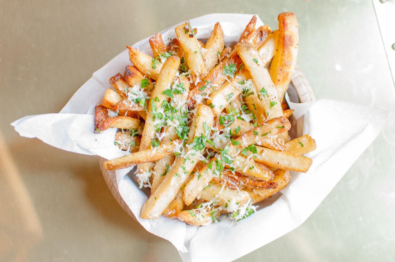 parmesan truffle fries | kitchen lush