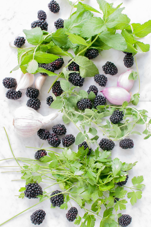 blackberry chimichurri | kitchen lush