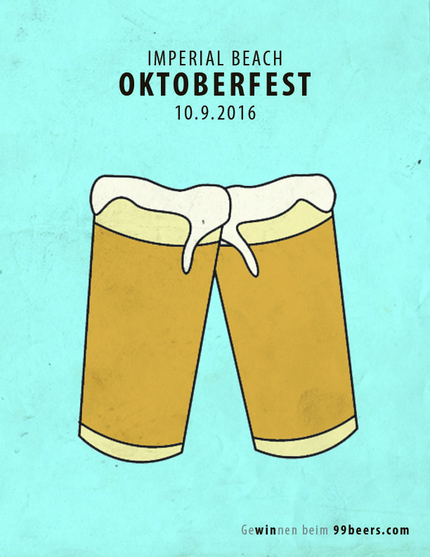 Oktoberfest: Shorts is a tribute to the wonderful San Diego weather, even in October