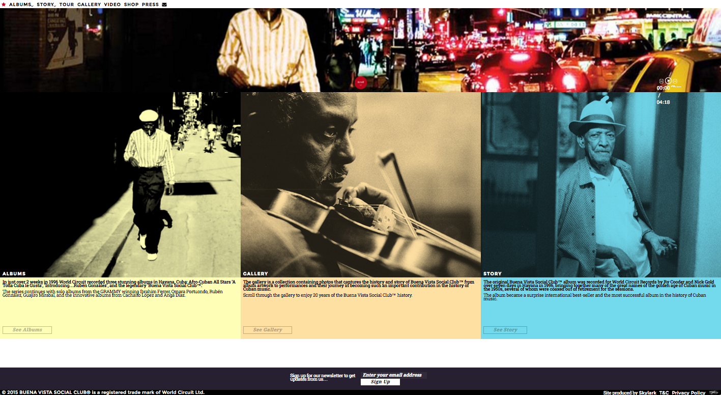 Buena Vista Social Club's current site