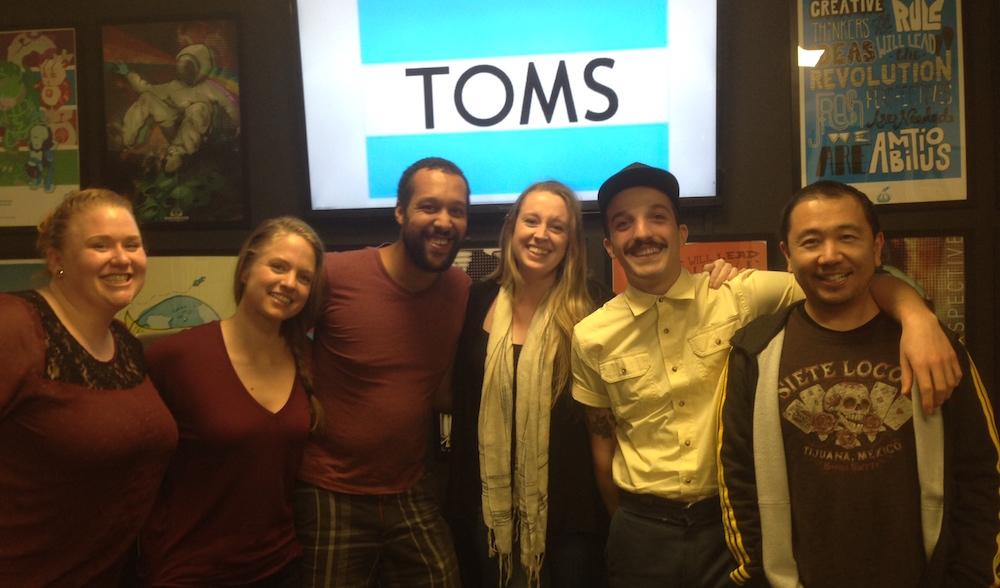 From Left: Lisa, Randi, Jeremy, Liz, David and instructor Henry Hikima