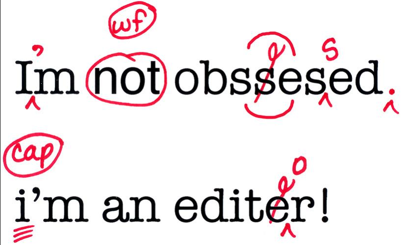 Image from: Why I Want To Be An Editor  -  Words are beautiful , by Meaghan Summers