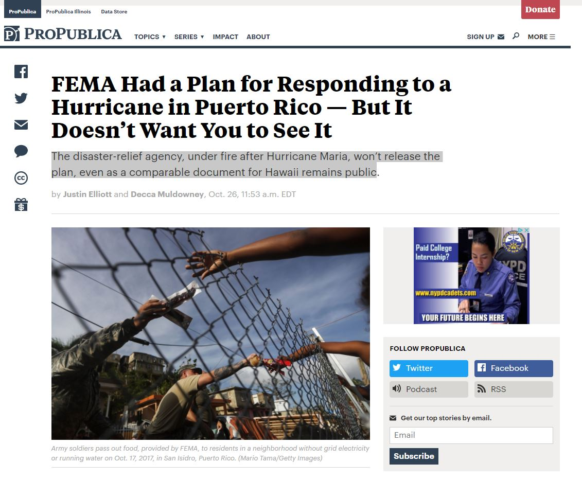 Read the story at  ProPublica