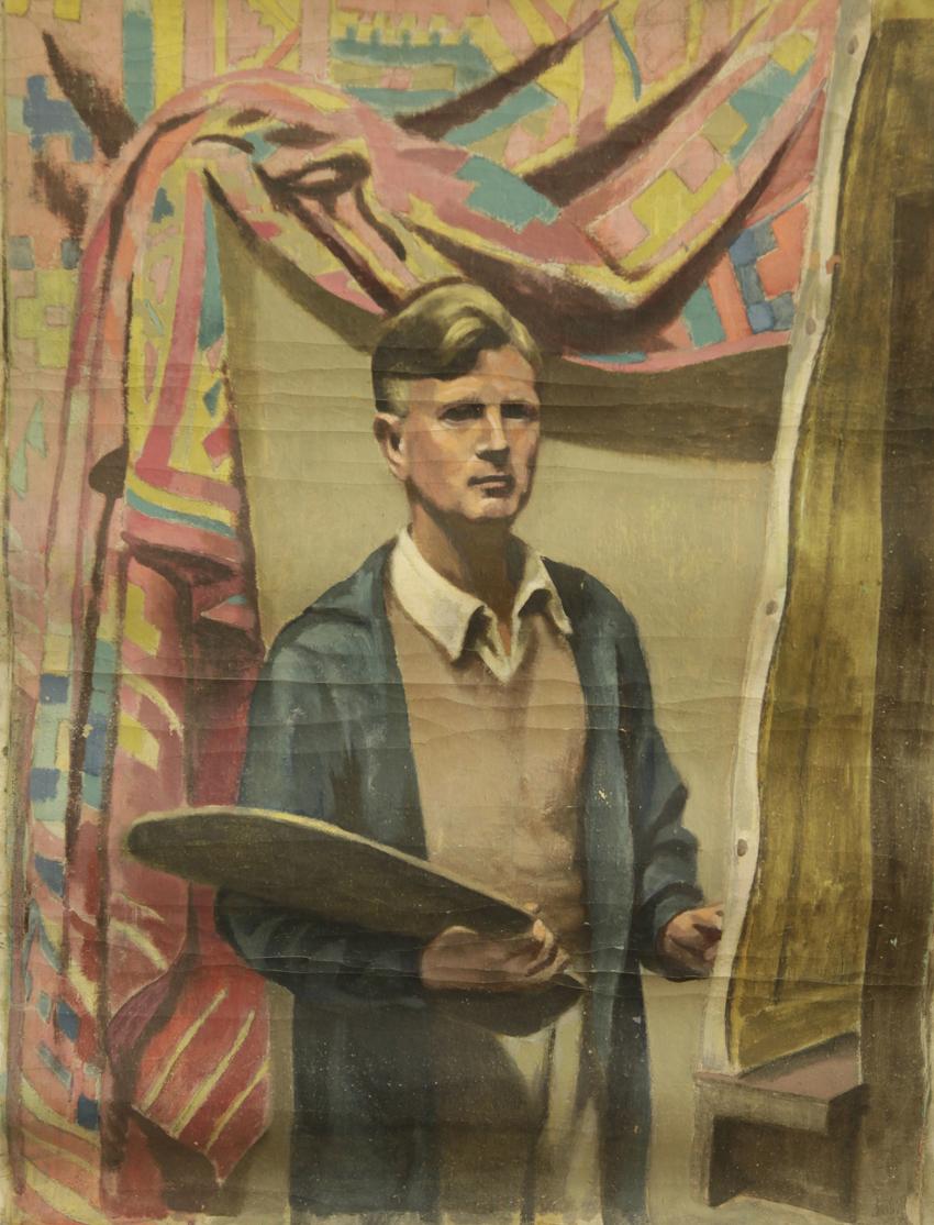 Benny Cohn in his studio (1932)