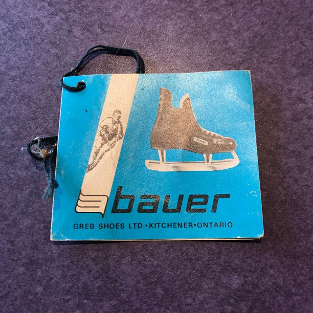 Sometimes if you sell something old enough, we'll still buy it. #bauer #dawnofhockey