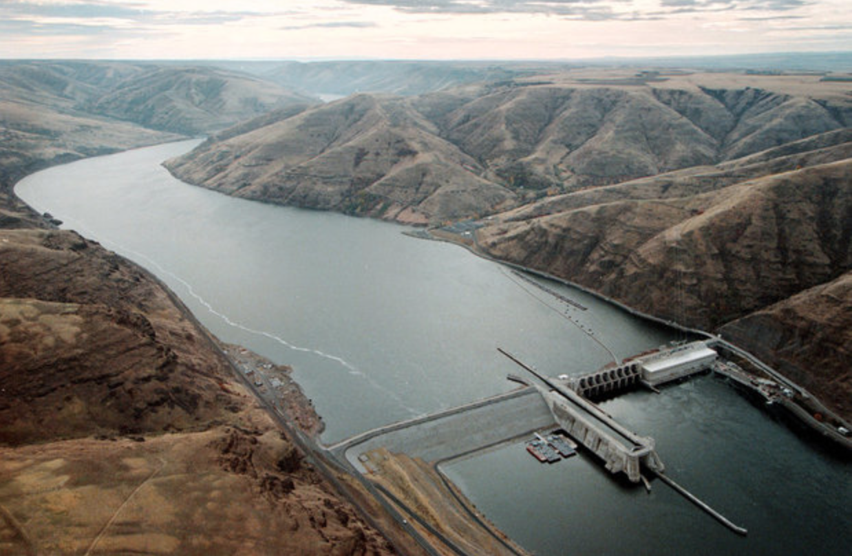 Lower Snake River Dam