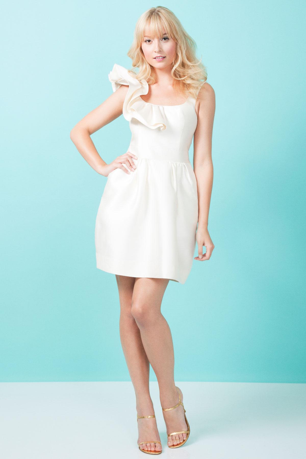 Kirribilla Bridesmaid Dress, White Aphrodite Dress