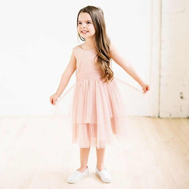 👋🏻 Fall/Winter Brides 👉🏻 Now's the time for flower girl dresses! 🌸👧🏼💕 We have so many to choose from BUT some take just as long to arrive as bridesmaid dresses! Schedule your appointment ASAP #linkinbio so we can help with styling, sizing, and timing your order for those growing little gals in your #gildedtribe ~~~ {PS} This super cute @jennyyoonyc dress comes in all her tulle colors and can be made full length! ~~~ {PPS} Yes, those are little girl bridal @toms we have on sale for 50% off! ~~~ Photo: @jennapowersphoto Hair: @monroesbeautyspa Makeup: @e.eigensee Model: my fabulous niece, Harper @mandihartman . . . #bridesmaids #bridesmaid #614bride #614 #columbusohio #ohiobride #columbusbride #cbusweddings #columbusweddings #bridetribe #misstomrs #pursuepretty #dressshopping #shoplocal #fancydress #futuremrs #engaged #isaidyes #columbusalive #expcols #asseenincolumbus #jennyyoo #jennyyoonyc #flowergirl #flowergirldress #flowergirldresses #tulledress #socute