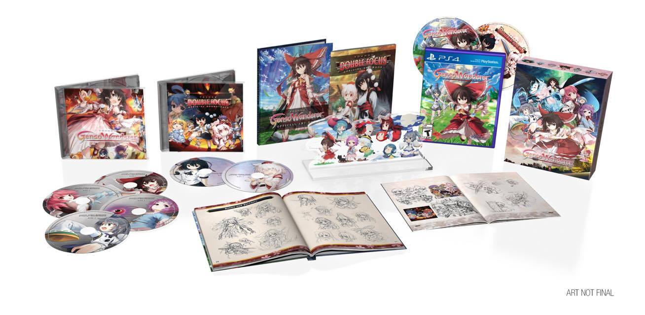 Touhou Genso Wanderer - Collector's Edition; 2017