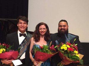Will King, Deborah Rogers, Manase Latu