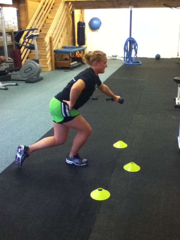 Athlete agility and speed workout