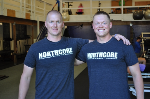 Northcore coaches: Jeff Millet and Willie Davies