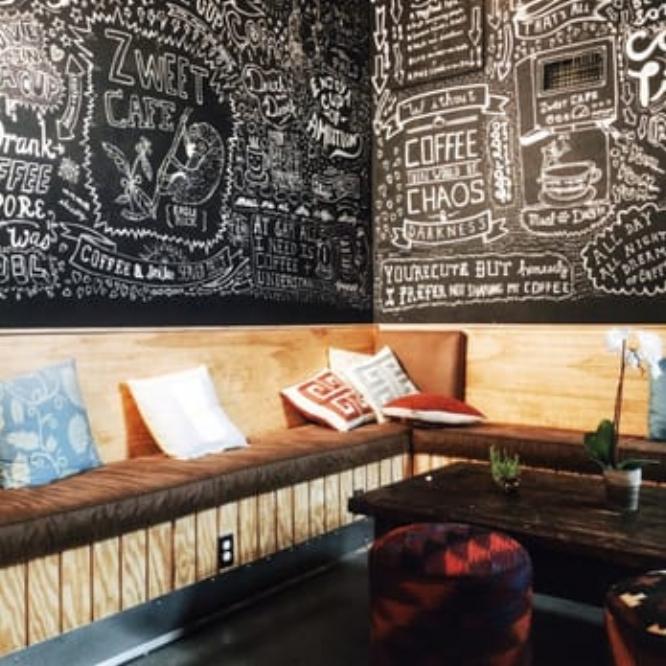 ZWEET CAFE: LOS ANGELES 4682 EAGLE ROCK BLVD., LOS ANGELES, CA 90041 PHONE: (323) 305-4038