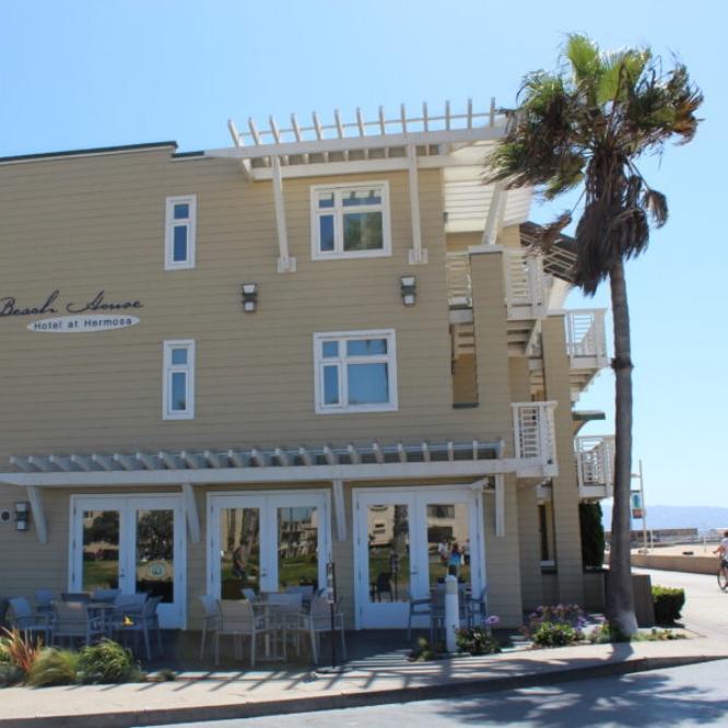 BEACH HOUSE RESORT: HERMOSA BEACH  1300 The Strand., Hermosa Beach, CA 90254  Phone: (310) 374 - 3001