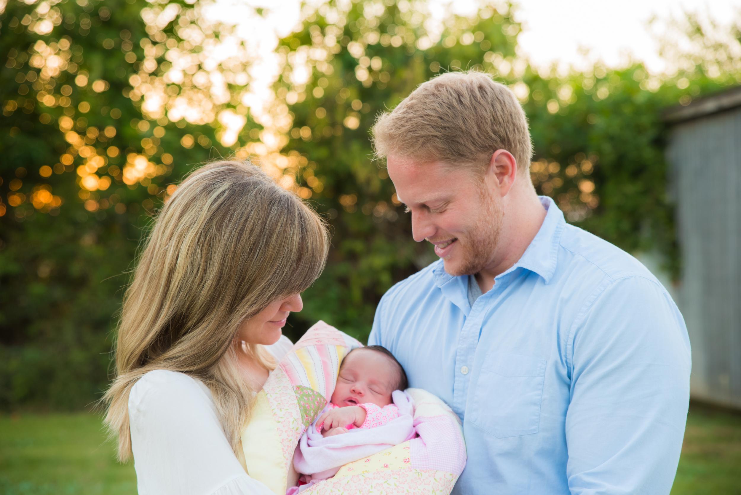 My Family: Jenn, Allie, Luke