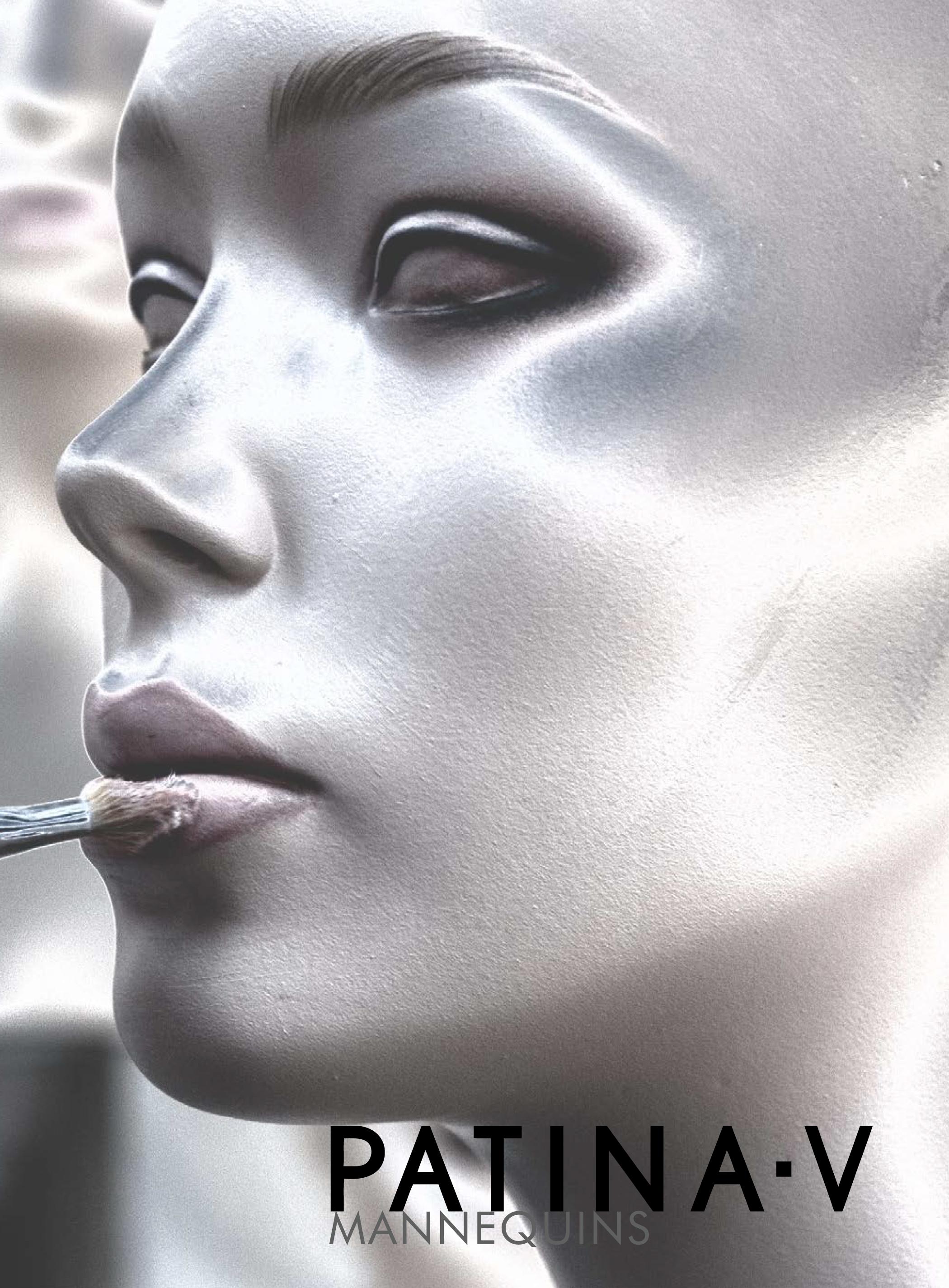 HLS Media Graphic Design Patina-V Mannequins