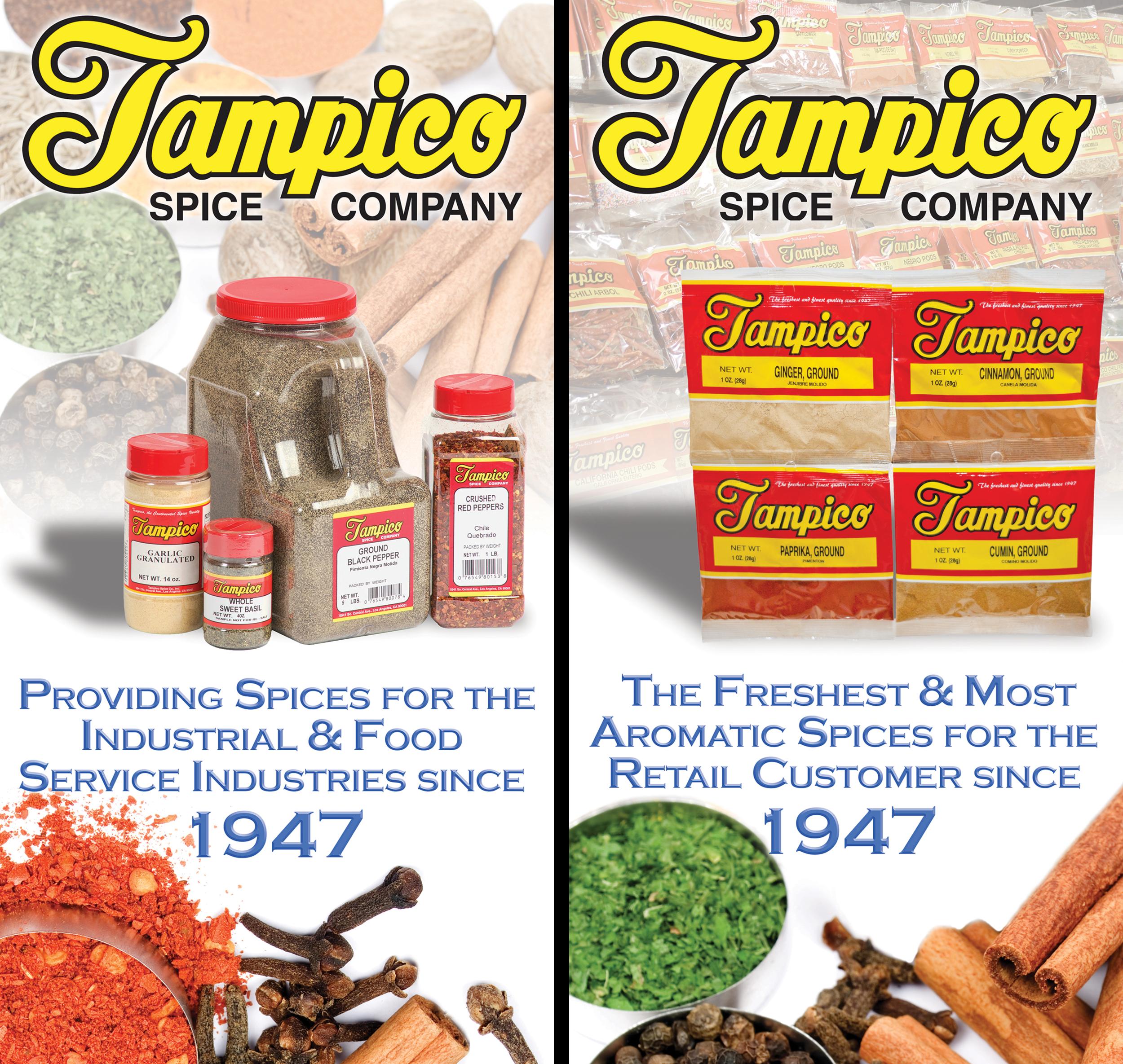 HLS Media Graphic Design Tampico Spice Company