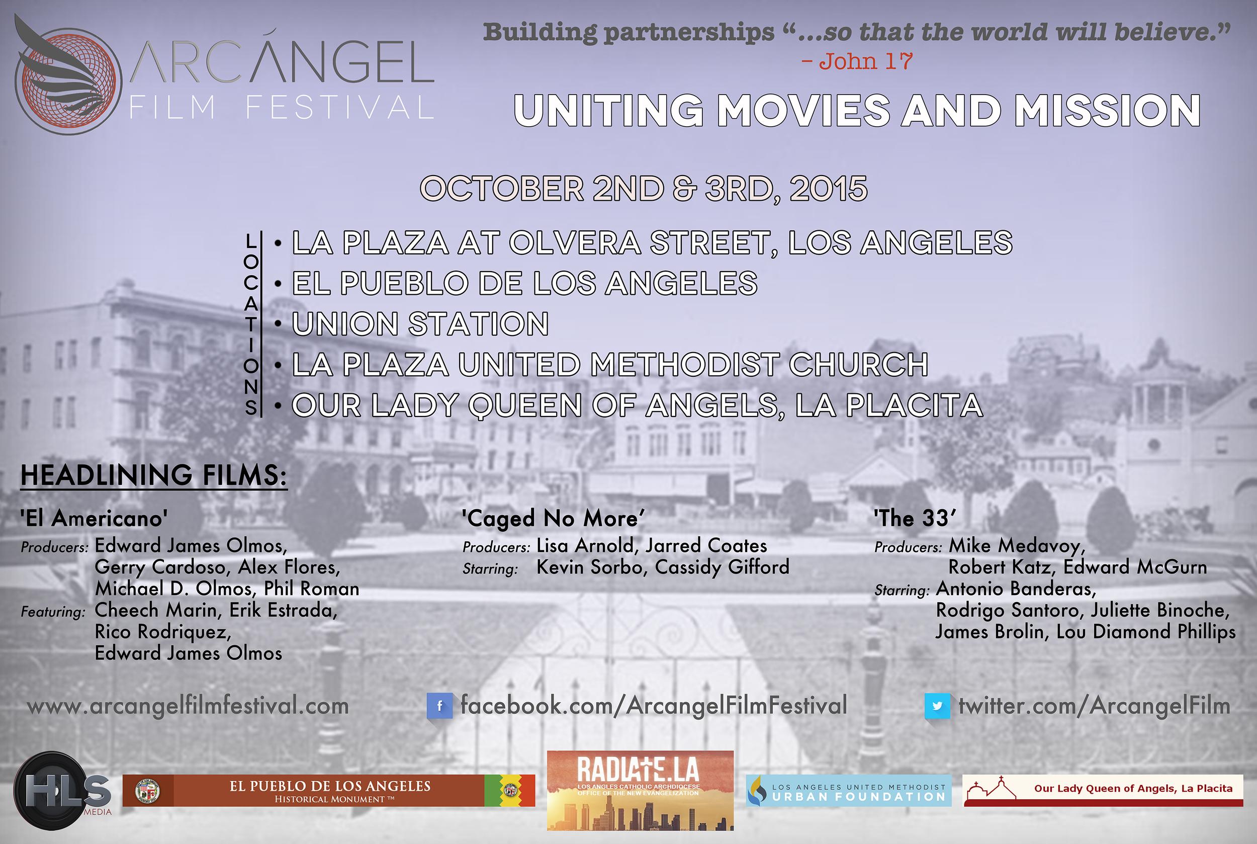 HLS Media Graphic Design Arcangel Film Festival