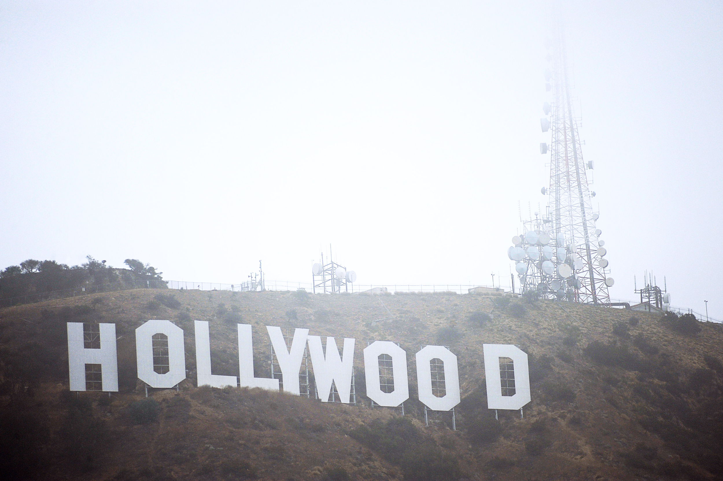 HLS Media Photography Hollywood Sign