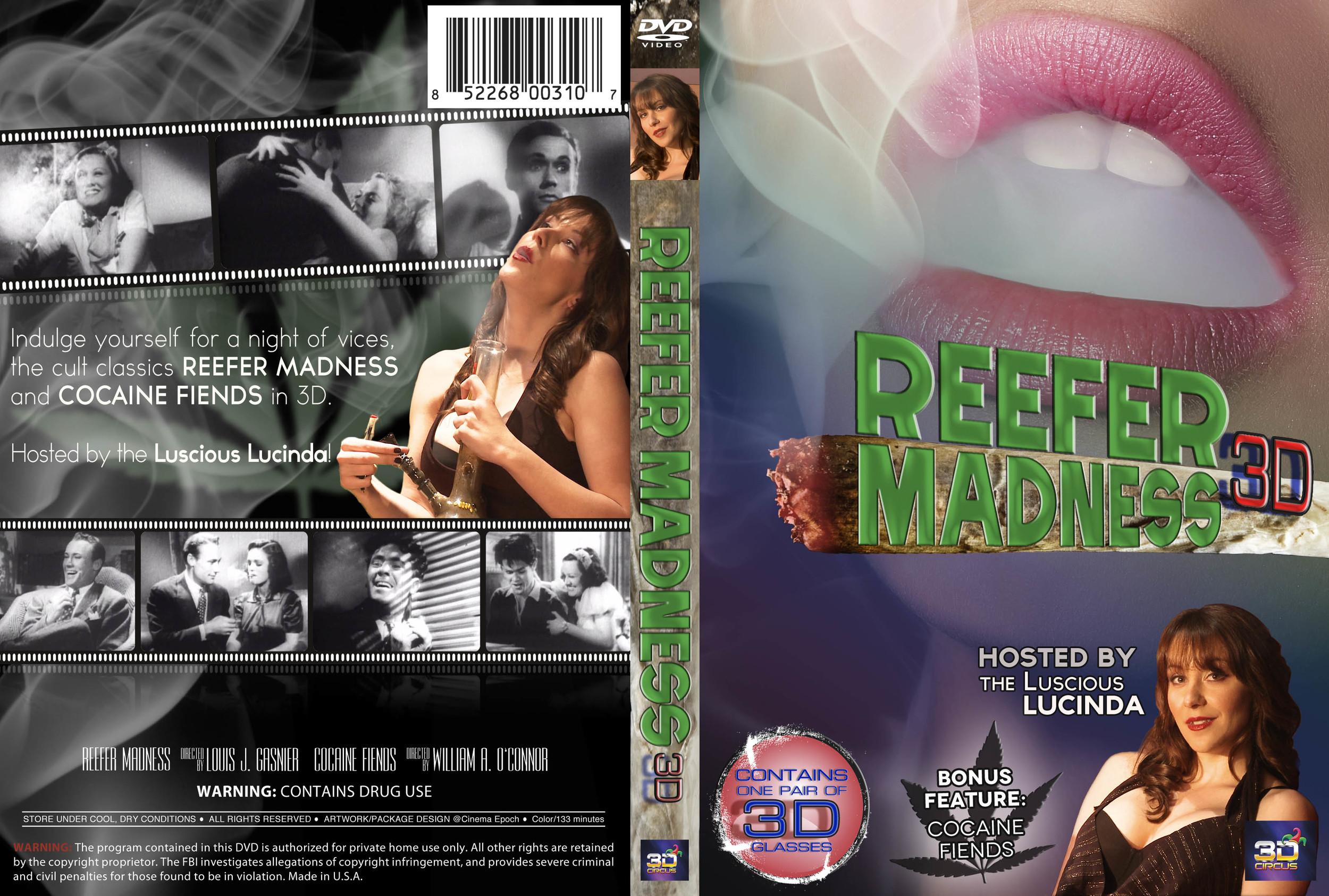 Reefer Madness 3D DVD