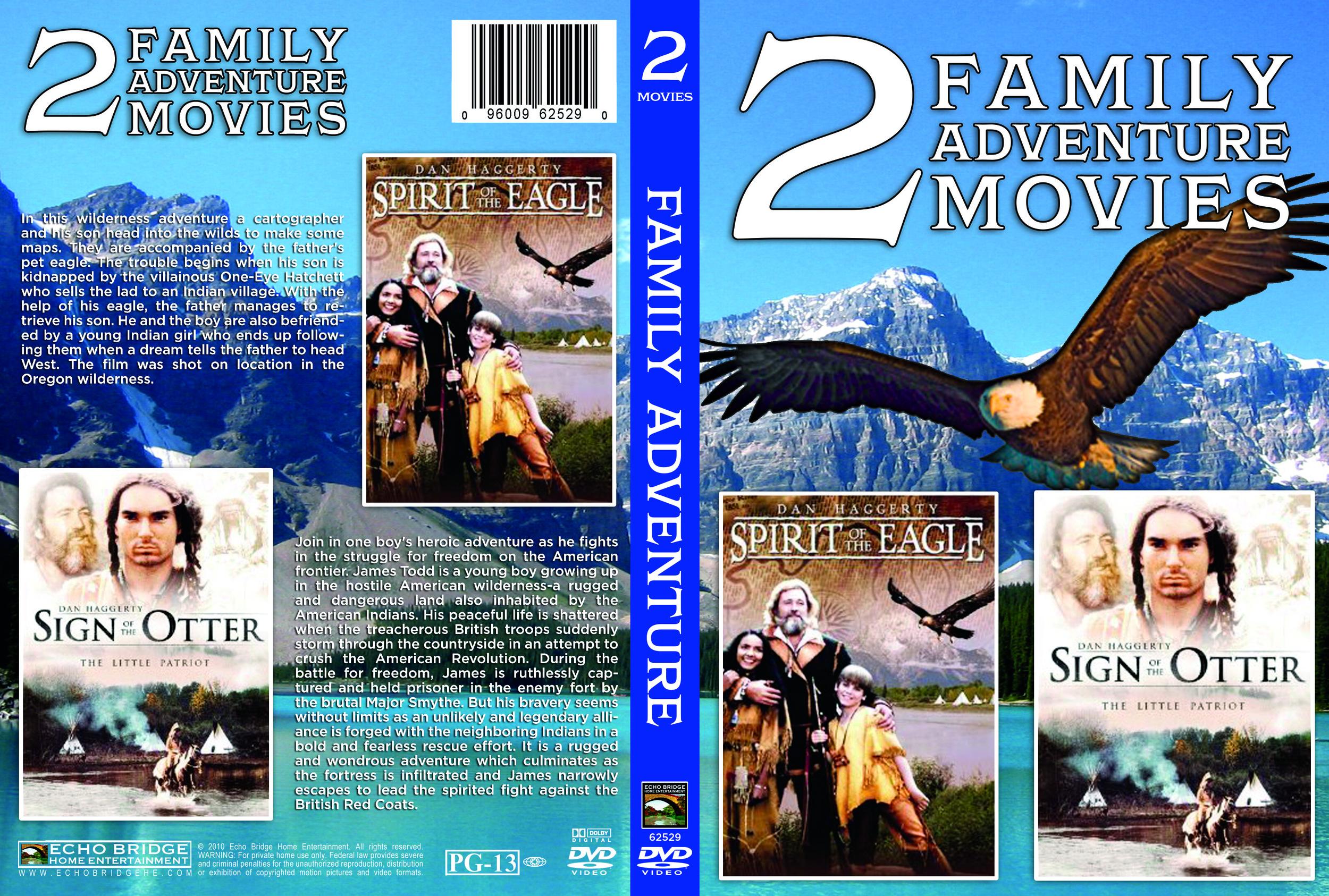 2 Family Adventure Movies DVD
