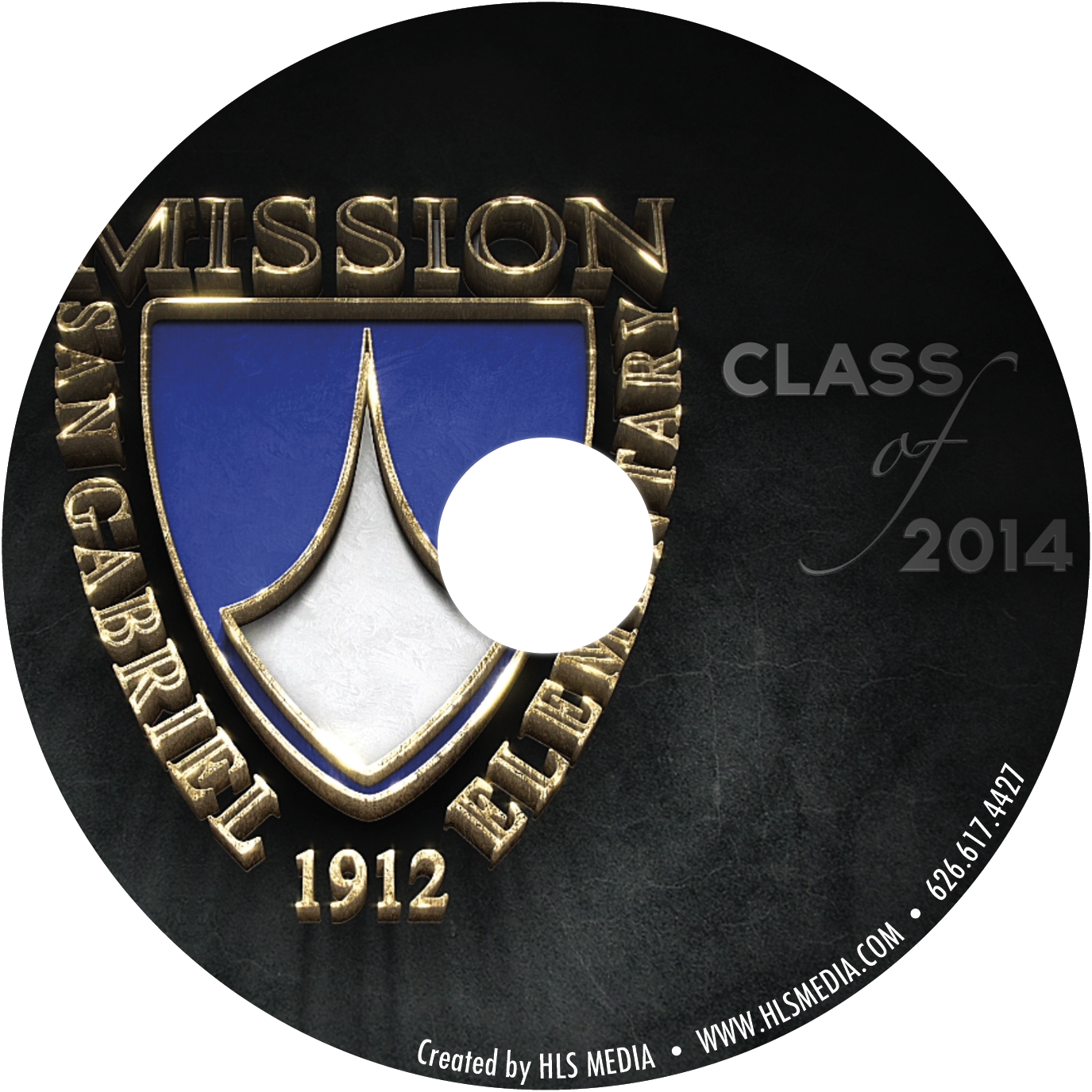 San Gabriel Mission Elementary Class of 2014 DVD