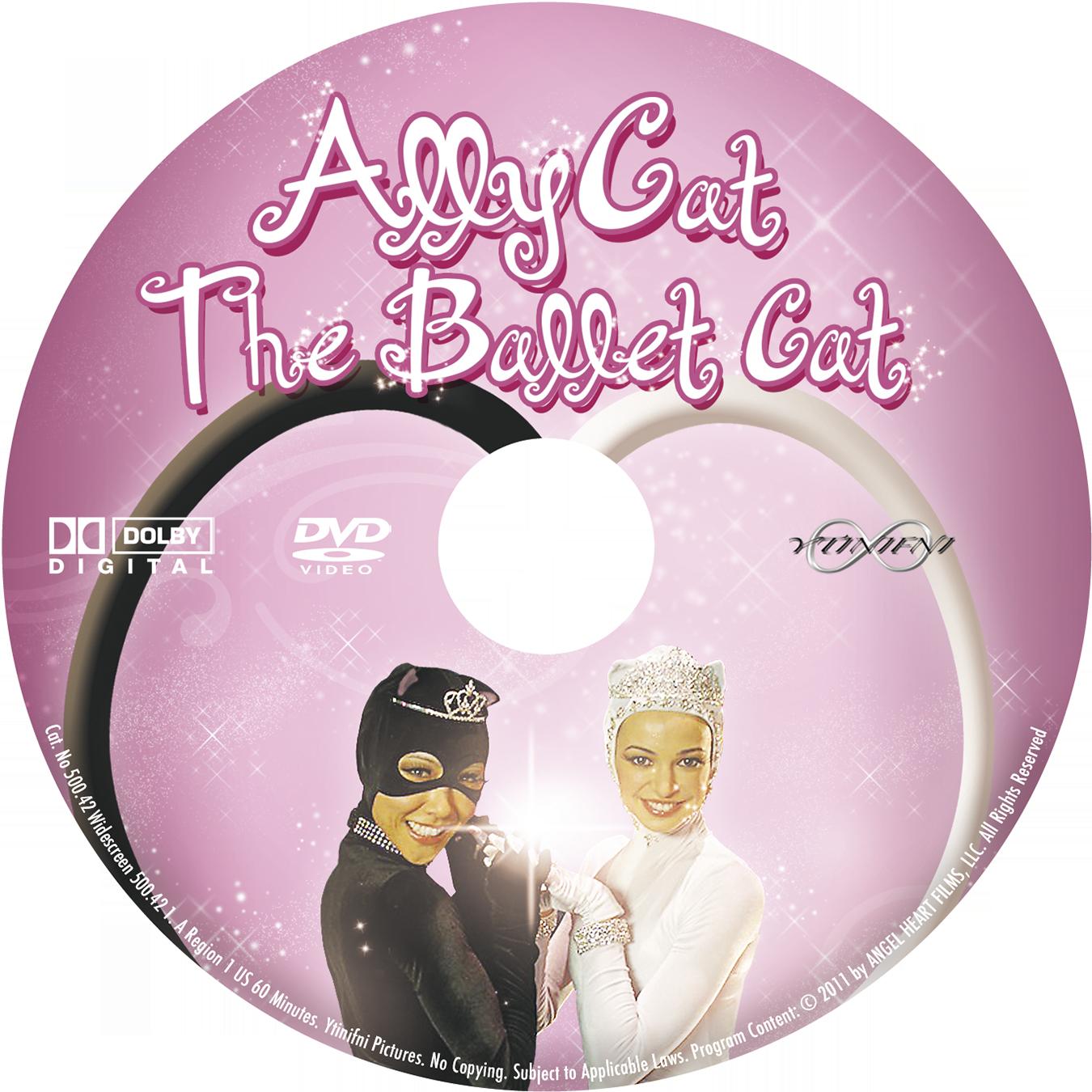 Ally Cat The Ballet Cat DVD